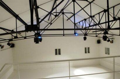 Salle de danse - vue de la mezzanine